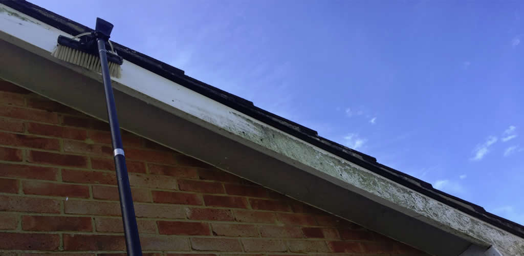 <br/>Soffit & Fascia Board Cleaning